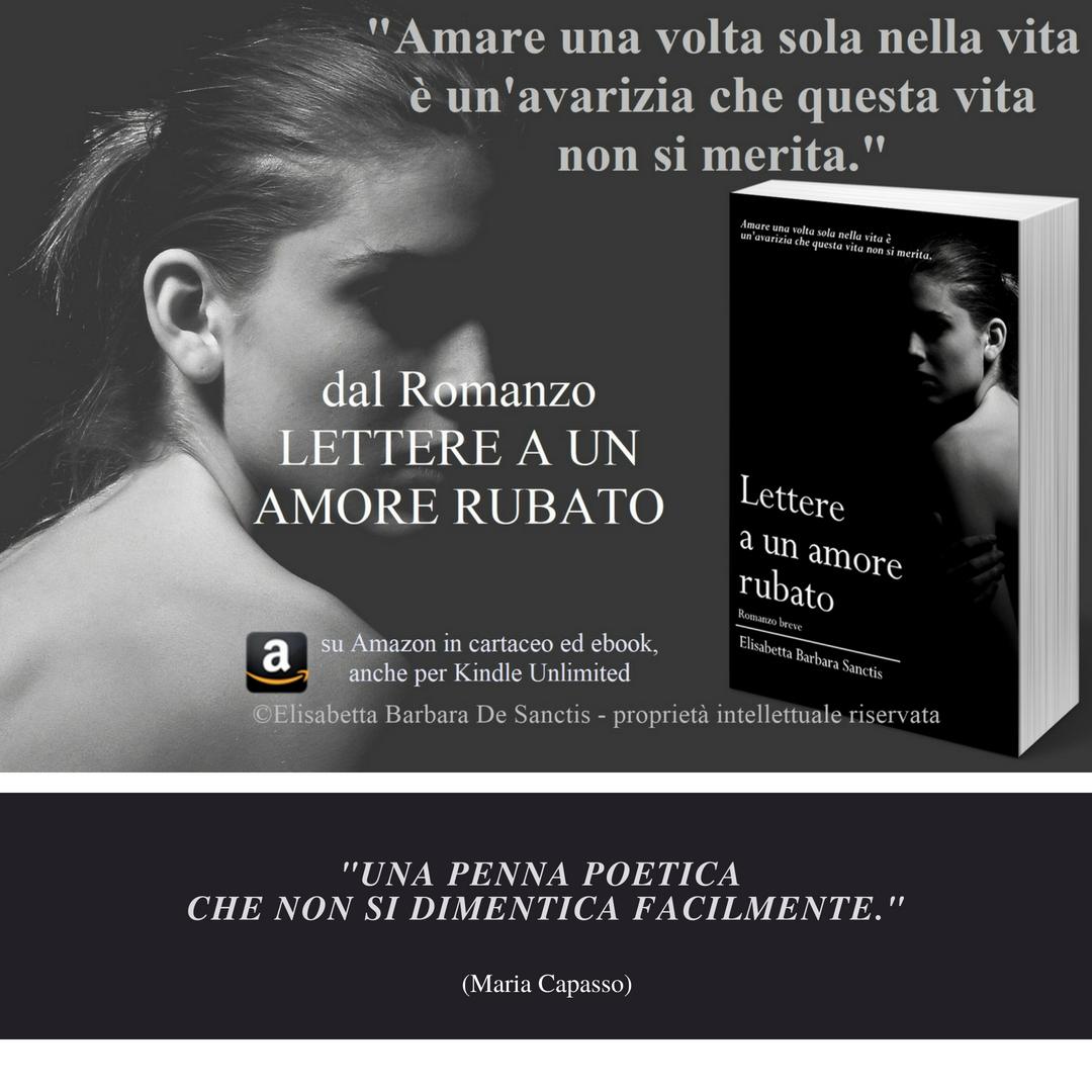 Romanzo Elisabetta De Sanctis